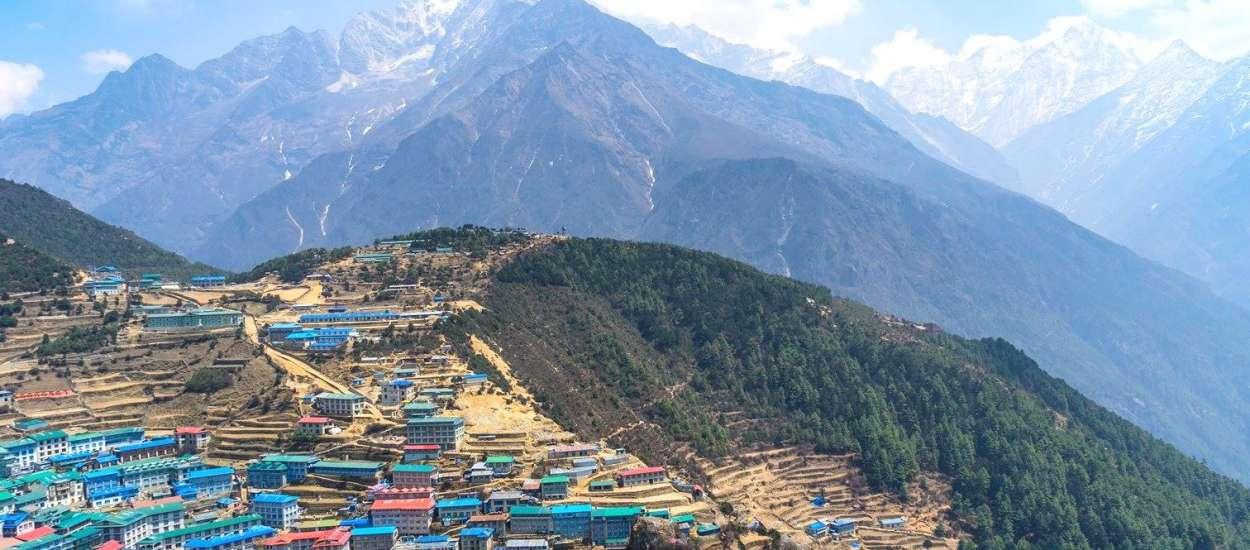 Namche Bazaar -gateway to Everest