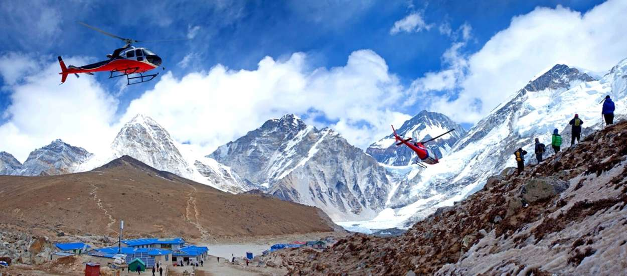 Luxury Holidays in Nepal with Everest Helicopter tour