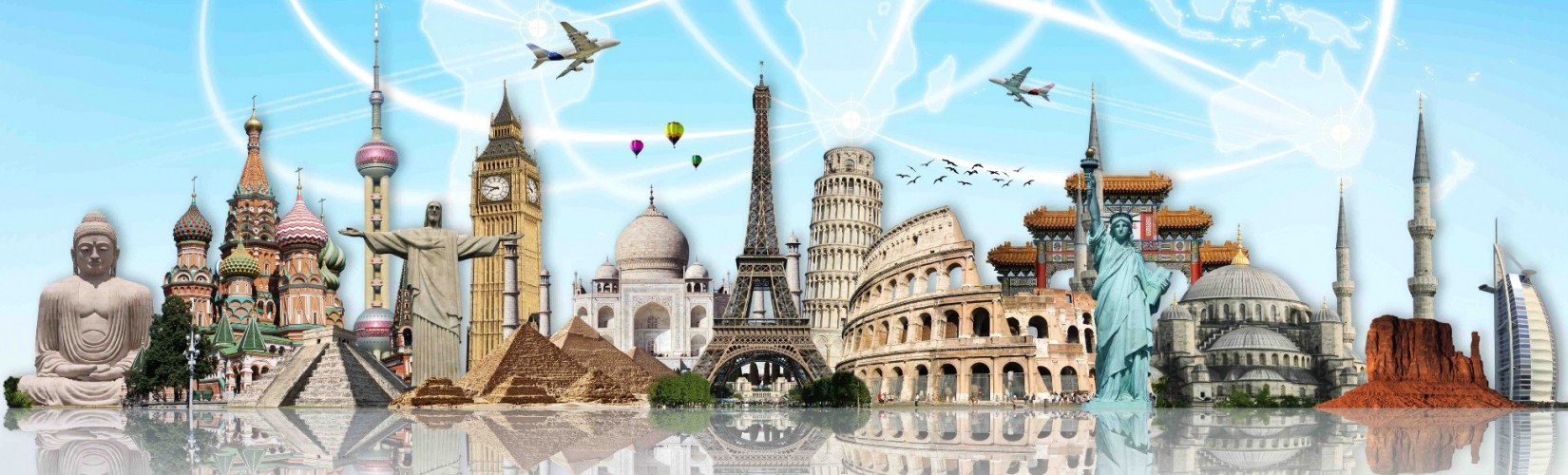 Fly Around The World