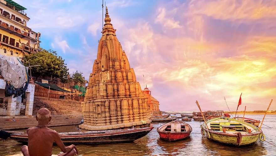 Golden Triangle with Holy Varanasi