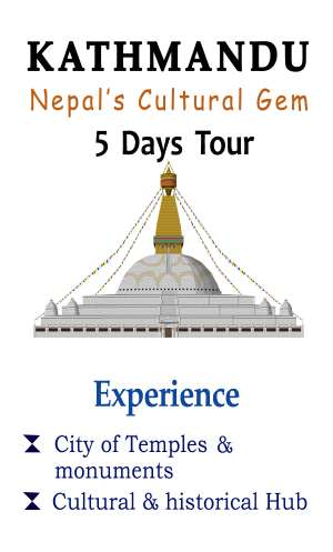 Kathmandu Tour with Luxury Accommodations and all inclusive